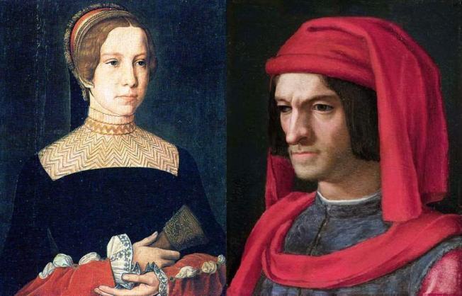 Madeleine de la Tour dAuvergne and Lorenzo de Medici II.JPG