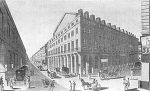 Theatre des artes 1794 to 1820
