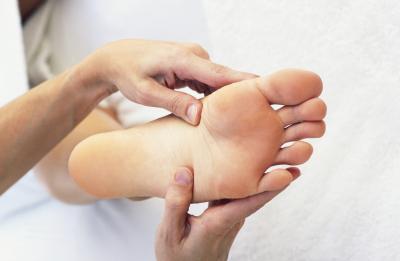Don't wait for a f.l.y. guy or your MOM-massage your OWN feet!
