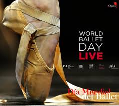world ballet day pointe shoe