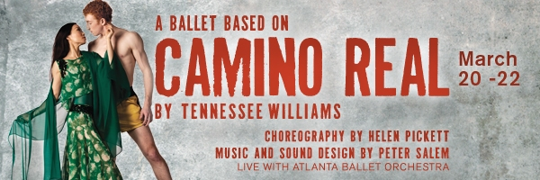 Photo Flash: First Look- Atlanta Ballet's World Premiere Ballat Adaptation of Tennessee Williams' CAMINO REAL
