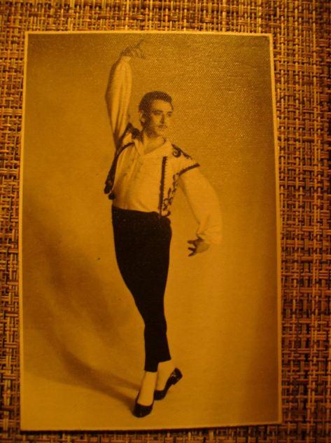 Ilya Gaft, Kirov Ballet, circa,1952