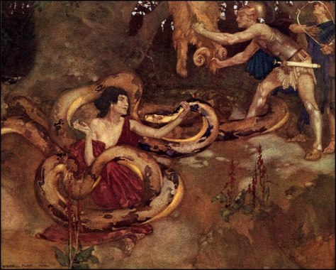 Medea Jason Orpheus and the Dragon 1910 W Russell FLint