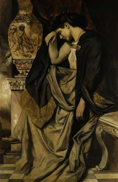 Medea the Witch Anselm Feurerbach 1873