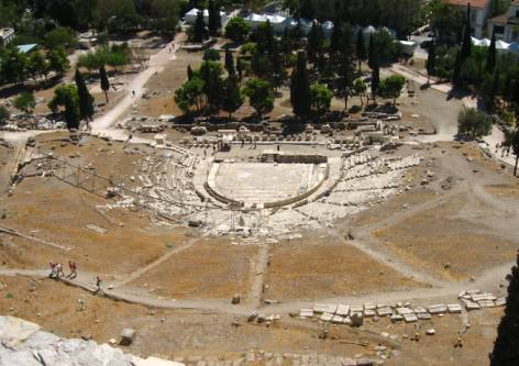 Theatre of Dionysus, Athens
