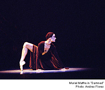 Yuri Possokhov's Damned she read the Euripides play searching out details to incorporate into the choreography
