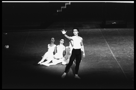 Edward Villella as Apollo with Suki Schorer, Carol Sumner and Patricia McBride 1964