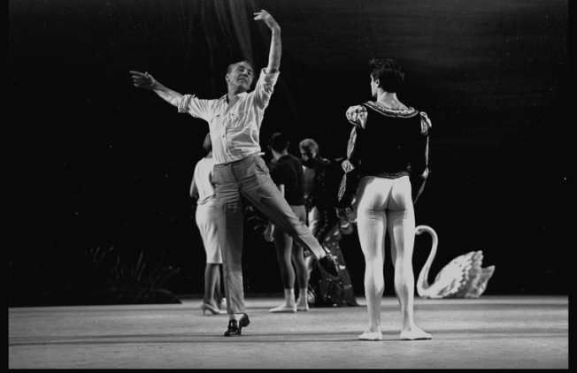 George Balanchine and Edward Villella