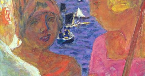 Ballet Portfolio gofundme 52916 Pierre Bonnard 1867 to 1947 The Converation at Arcachon